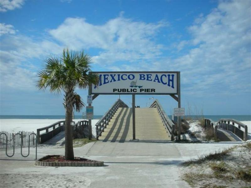 Mexico Beach Florida Pier