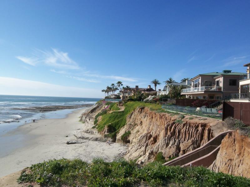 Oeanfront homes in Carlsbad California