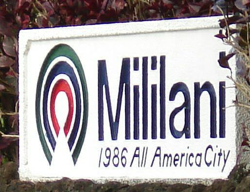 Mililani Sign