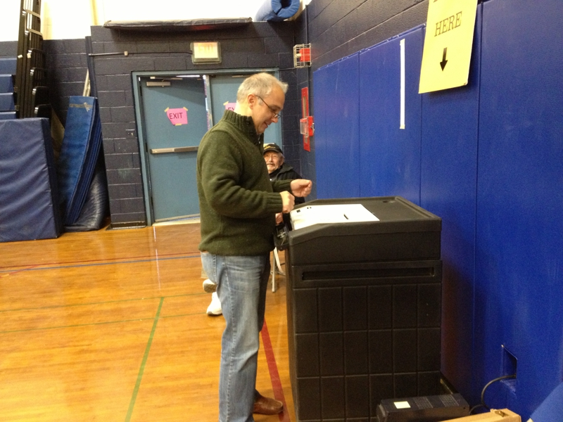 Voting in Wilton, CT 06897