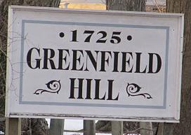 Greenfield Hill Fairfield CT Sign