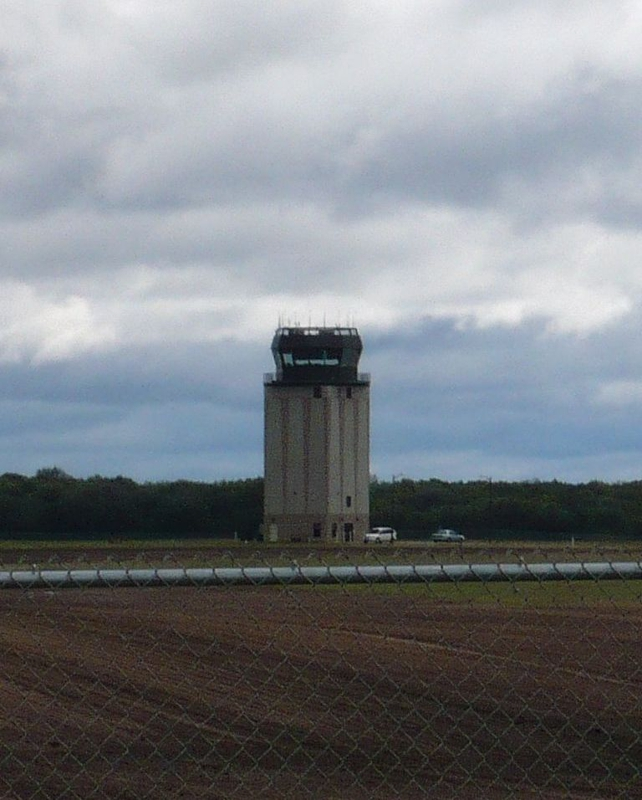 Air Traffic Control Tower at St. Cloud Regional Airport