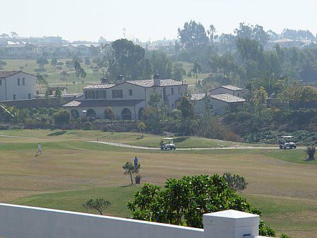 Homes on the golf course in Encinitas Ranch in Encinitas CA