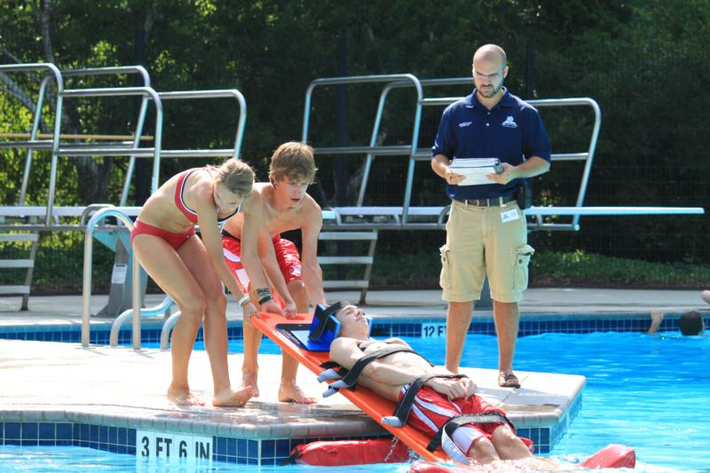 The Woodlands Junior Life Guard Training