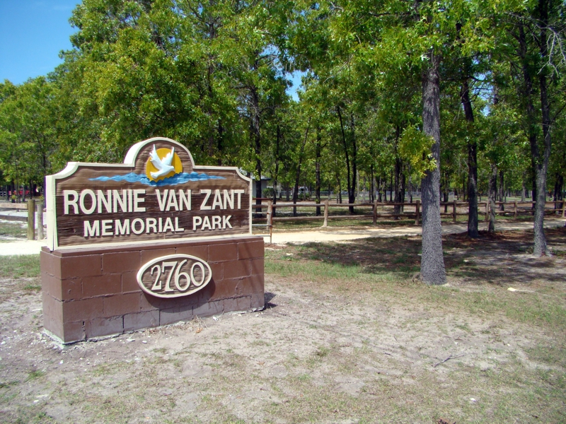Ronnie Van Zant Park in Lake Asbury, Green Cove Springs Florida