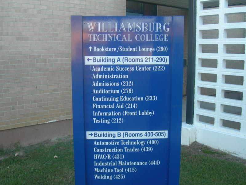 Wordy C Goes To Williamsburg Technical College, Kingstree SC