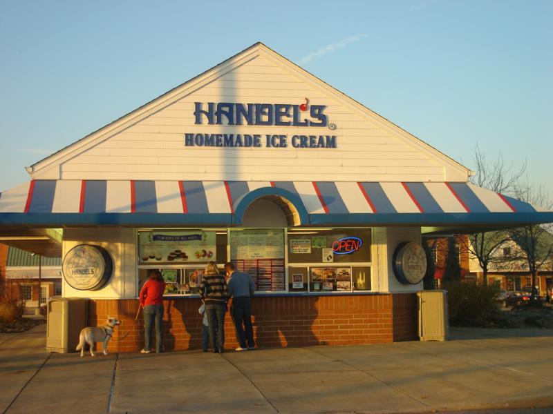 Broadview Heights Ohio--Handel's ice cream