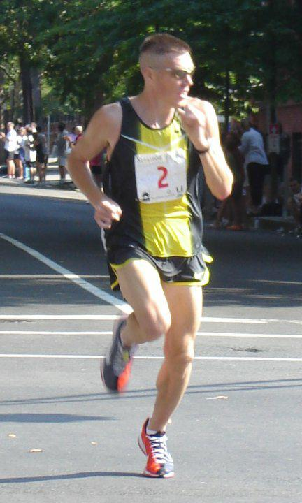 Dan Browne - 1st Place in New Haven 20k - 2007