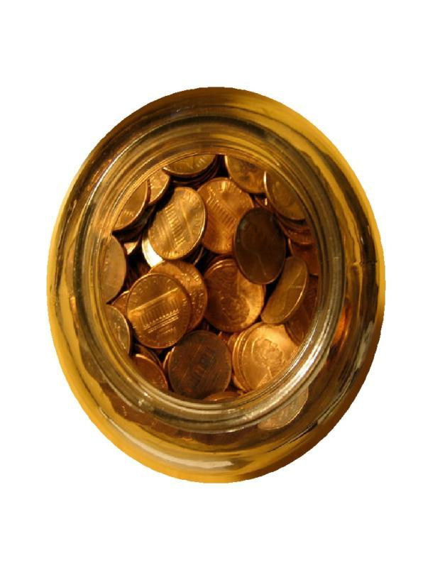 Pennies in a Jar  Wikipedia