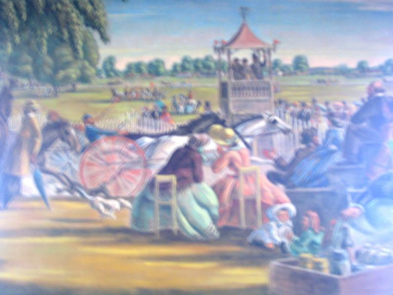 Mural in Hyde Park Post office