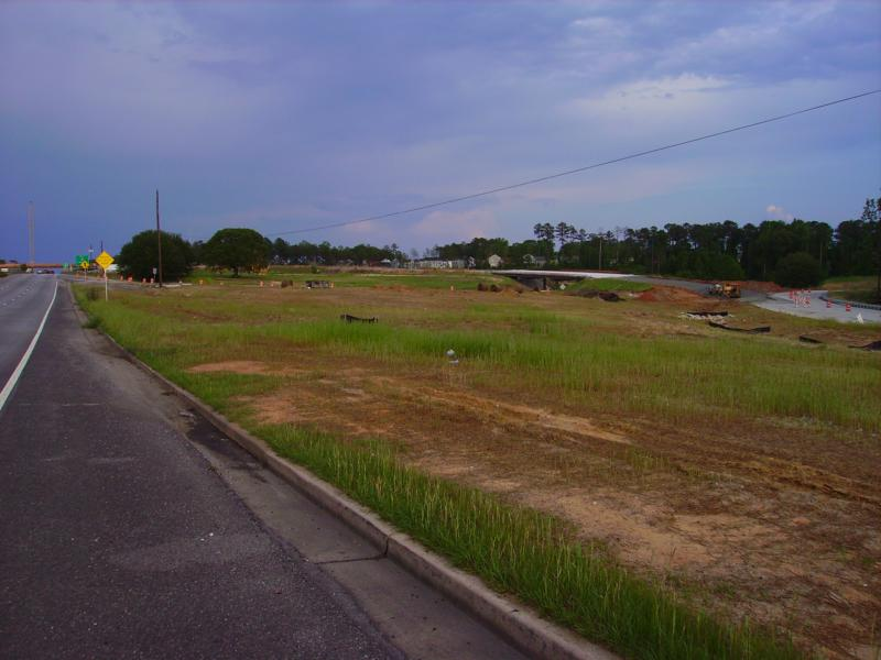 Victory Drive and Interstate 185 Construction, in Columbus Ga. home of Fort Benning.