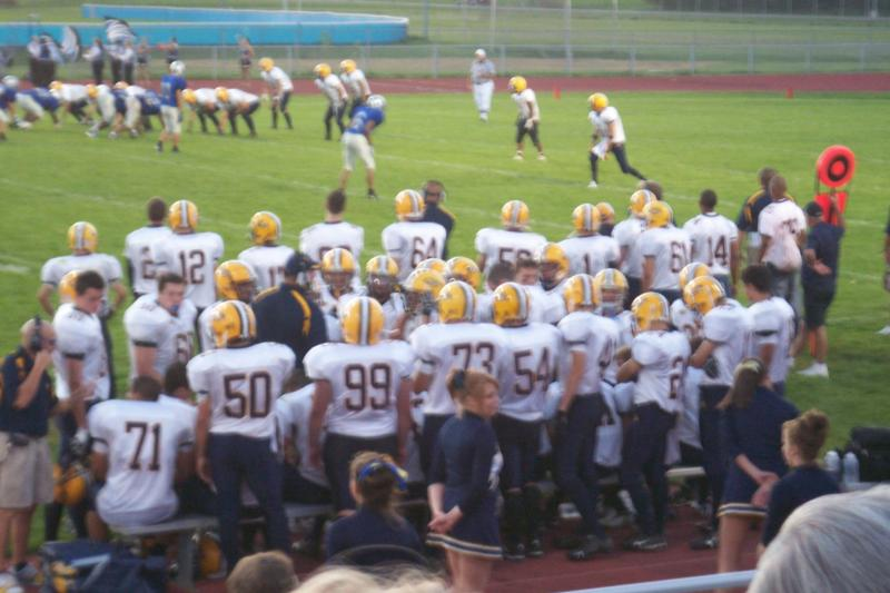 Saline team last year at Lincoln