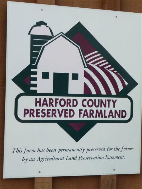 Agricultural Land Preservation Sign