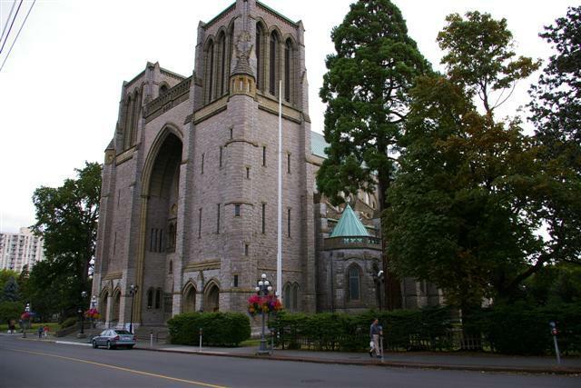 Christ Church in Victoria BC