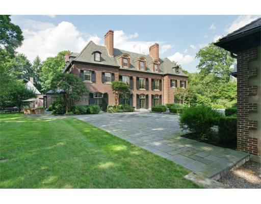 Most expensive listing brookline ma castles magazine for Massachusetts home builders