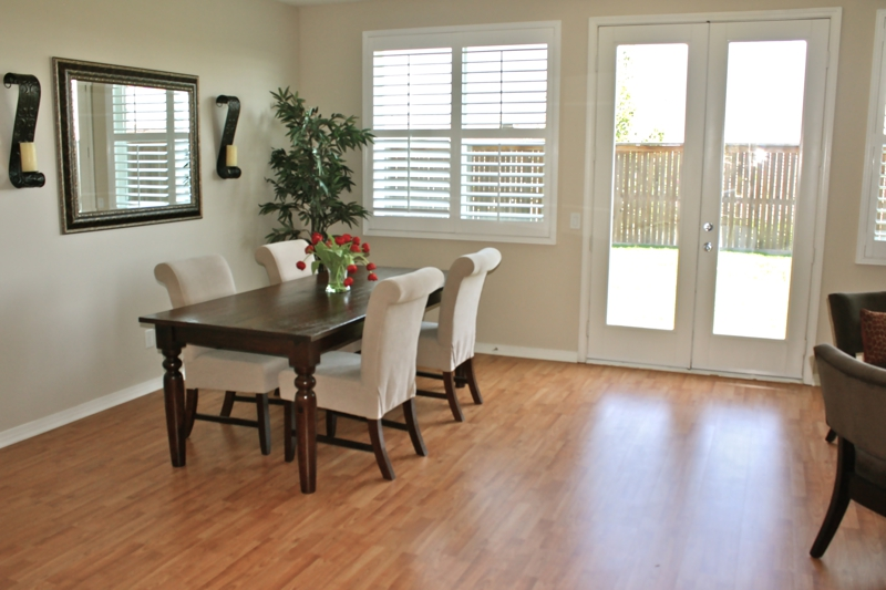 Winchester Home Staging - Dining Room
