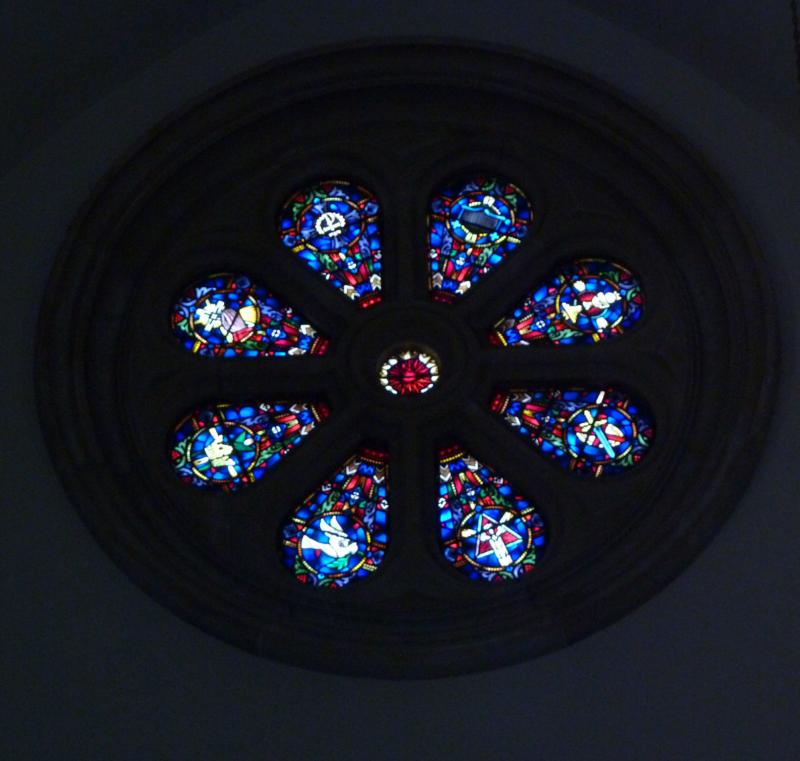 First Presbyterian Church Rose Window