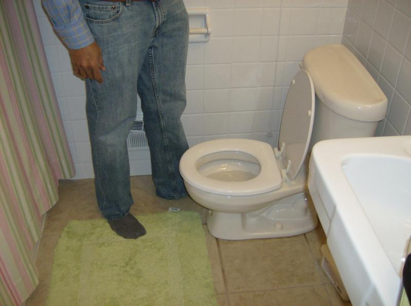Small people toilet