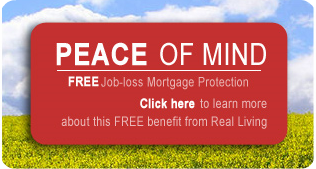 Real Living Peace of Mind FREE Job-loss Mortage Protection