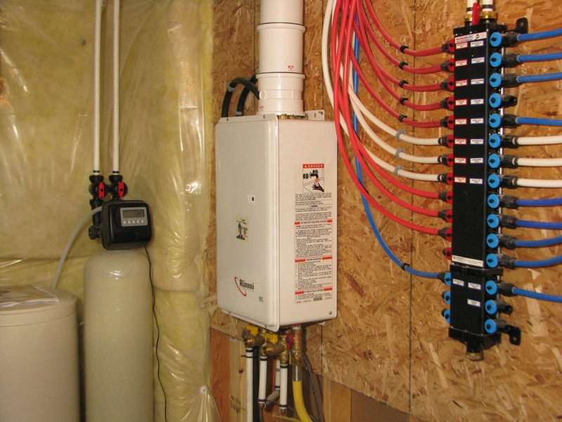 the rinnai r85 tankless water heater - we are seeing more and more