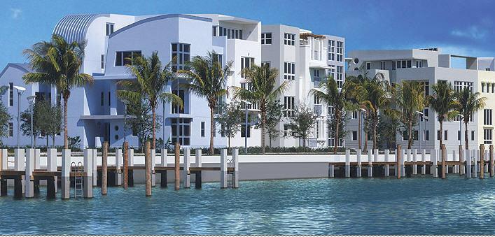 Aqua Town Homes On Allison Island