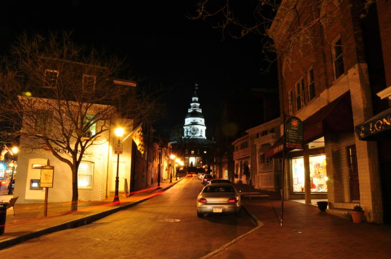 State House, Francis Street, Annapolis, Maryland 21401