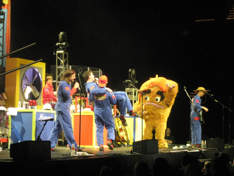 imagination movers at Austin city limits Moody theater