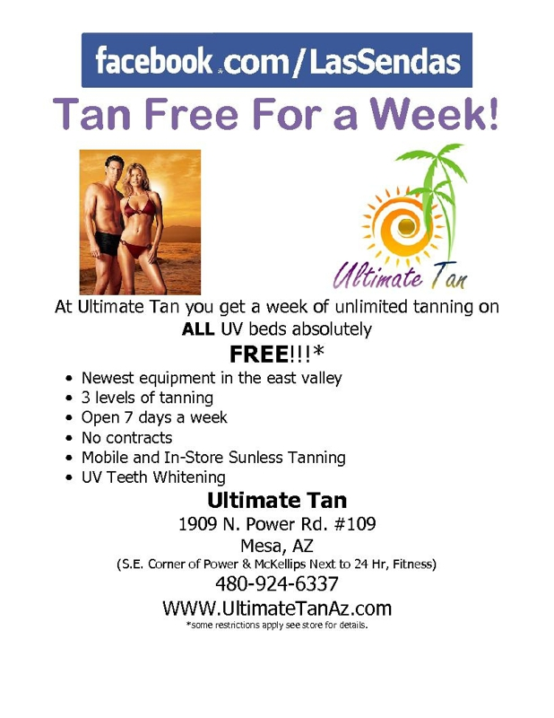 Tanning Salon Deals: 50 to 90% off deals in Tanning Salons. Get daily deals and local insights. One Week of UV Tans or One Spray Tan at Desert Sun (Up to 96% Off).