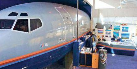 Joanne Ussery Loves Her Comfy 127 Foot Boeing 727