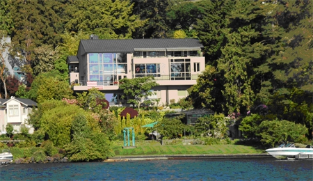 Lake Washington Waterfront Home Of The Day Alvord