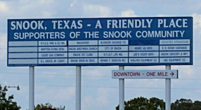 Snook sign