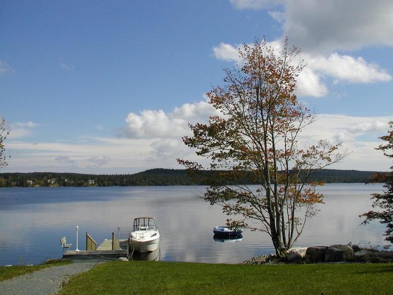 Porter's Lake dock