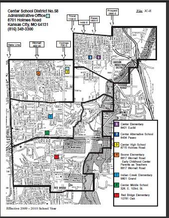 Kansas City School District Map | Afputra.com