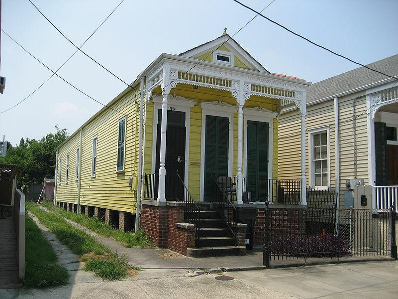 Shotgun Home - uptown New Orleans