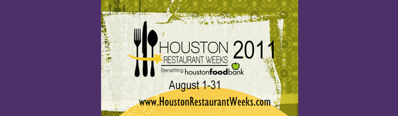 Houston Restaurants Week August 1-31