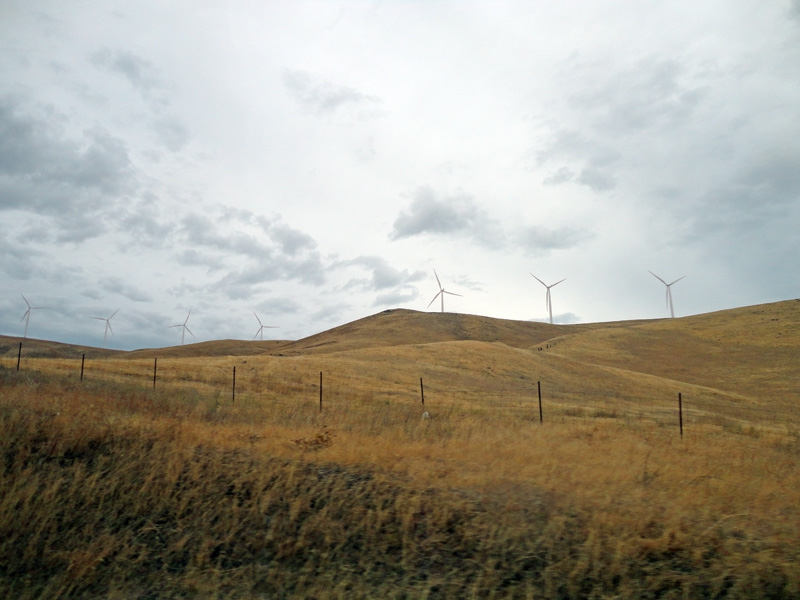 Desolate Windmills in Goldendale