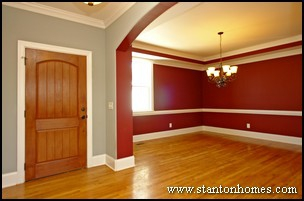 Raleigh Custom Home Builder - Types of Ceiling Treatments