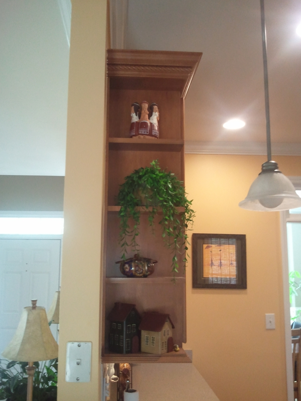 Custom Cabinet Shelving