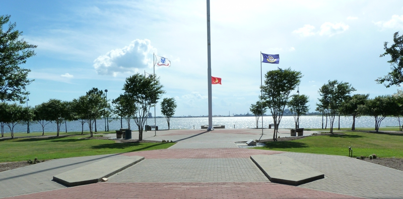 Veterans Memorial Park in Lake Charles LA