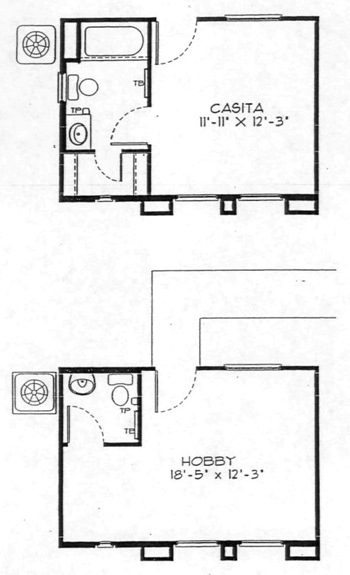 Casita Guest House Floor Plans House Design Ideas