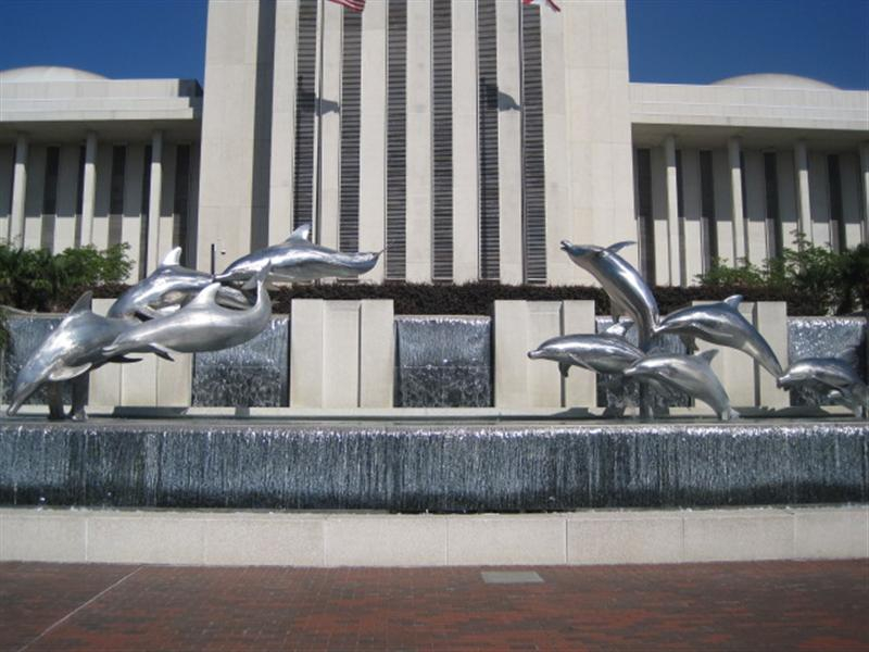 Dolphins - Current Florida Capital Building