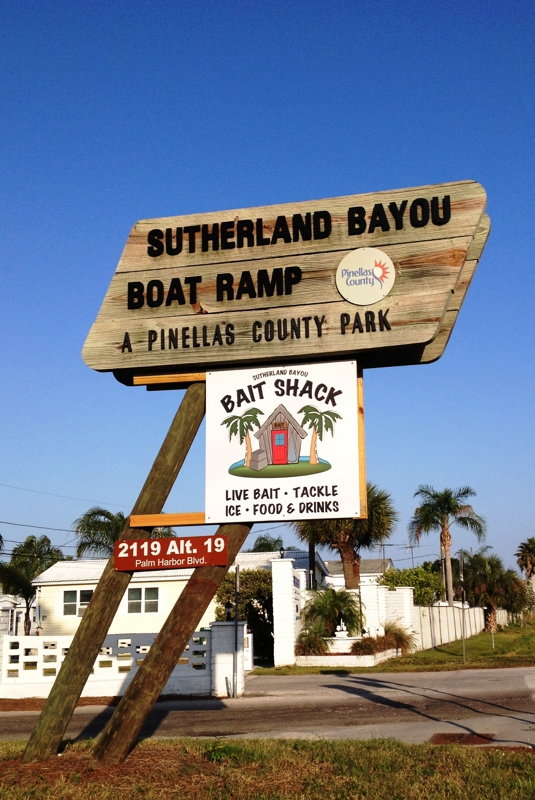 Sutherland Bayou Park & Boat Ramp, Palm Harbor Florida