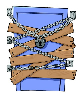 How to sell your tenant occupied house - Locked door clipart ...