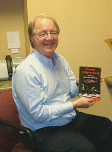 Proud Author Tim Burrell