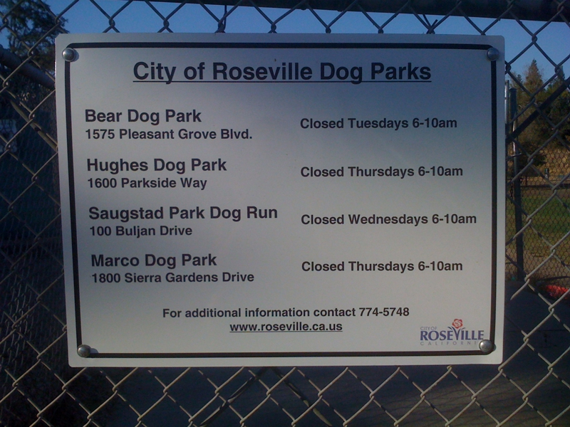 Dog Parks In Loomis