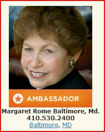 photo of Margaret Rome, Baltimore Real Estate Agent