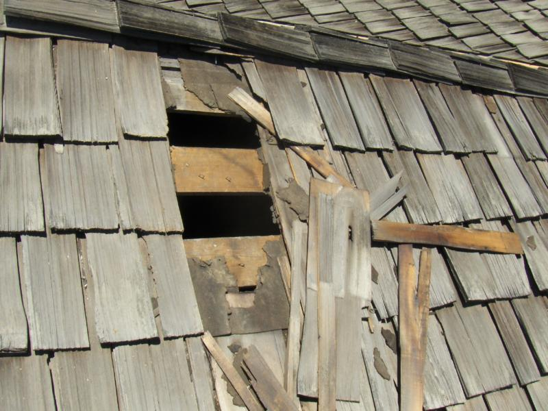 I Ve Got A Hole In My Roof A Home Inspection Blog