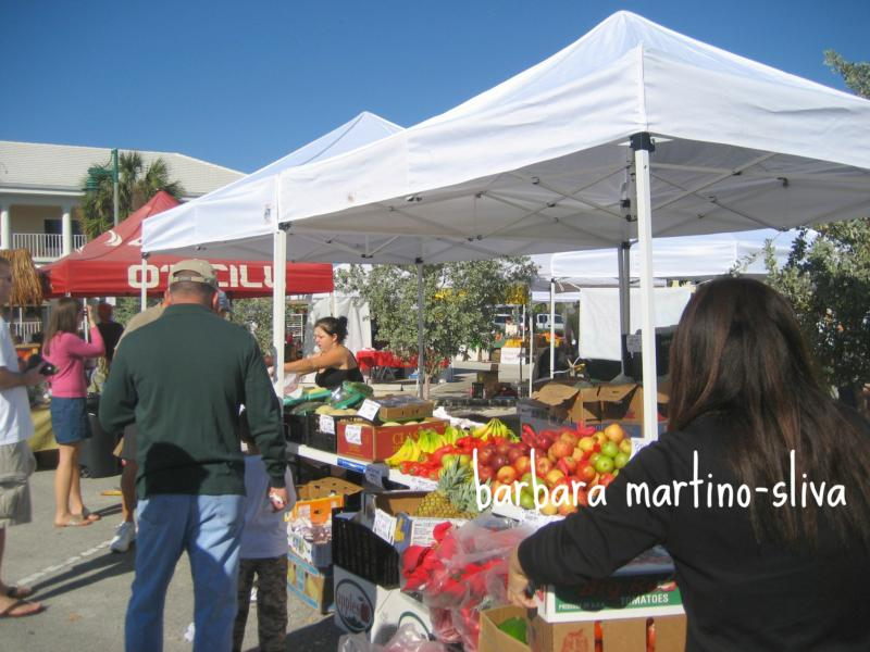OCEANSIDE FARMER'S MARKET, VERO BEACH FLORIDA, BEACHSIDE SHOPPING