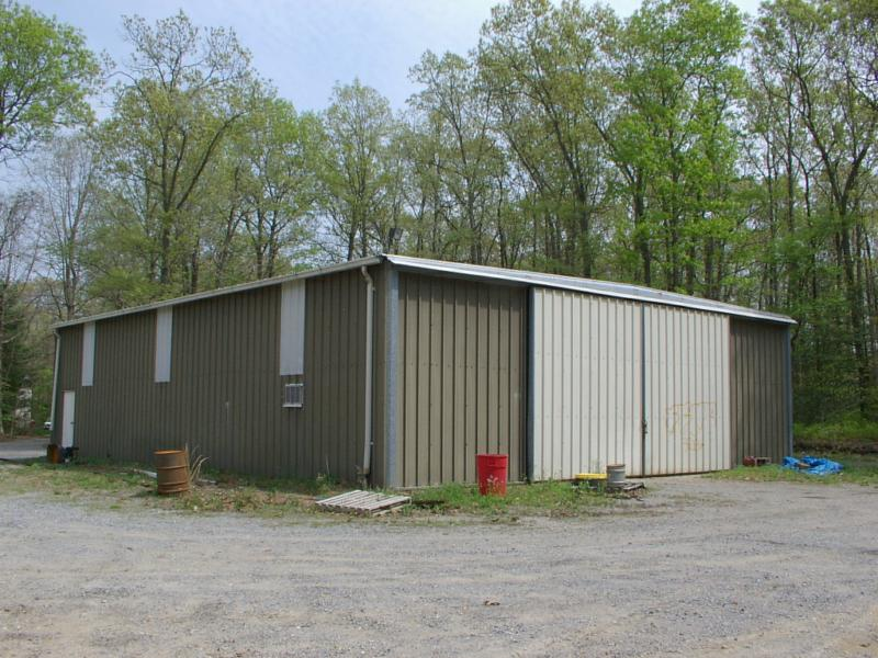 20 acres w home 48x60 steel butler building for Butler building house