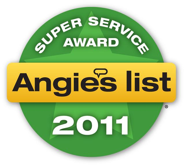 Angie's List Super Service Award 2011 Portland Home Staging